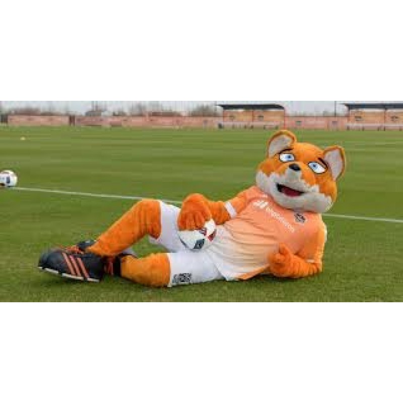 Soccer Bear Mascot Adult Costume