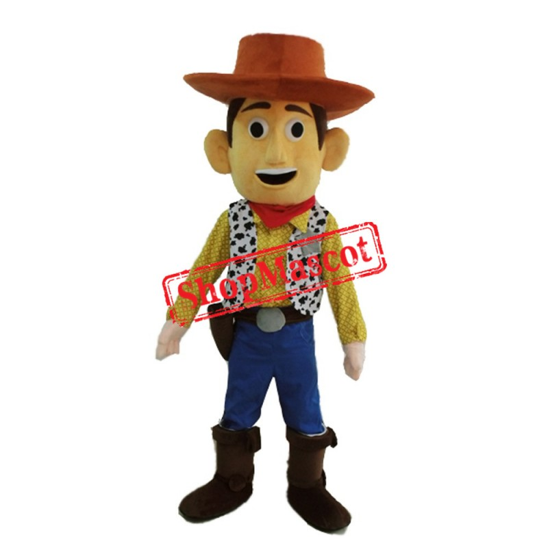 Cowboy Woody Mascot Costume Toy Story Sheriff Woody Fancy Dress Free Shipping