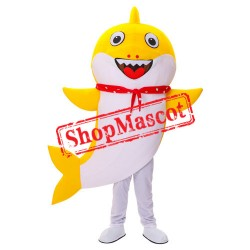 Baby Shark Mascot Costume Cartoon Character Birthday Party Carnival Festival Fancy