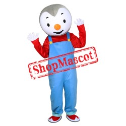 T'Choupi Mascot Costume Adult Size Penguin Mascot Costumes Purim Cosplay Costume
