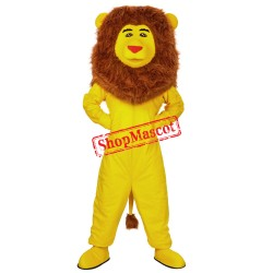 Yellow Lion Mascot Costume Custom Fancy Dress Cosplay Cartoon Mascot Costume Carnival Costume