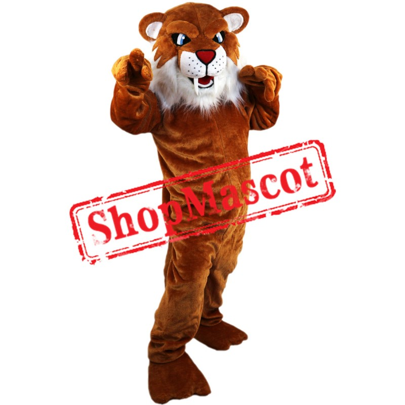 Fierce Leopard Mascot Costume Free Shipping