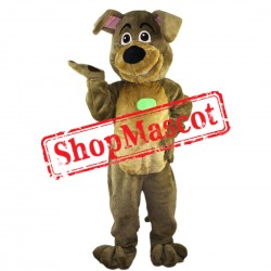 Happy Dog Mascot Costume Free Shipping