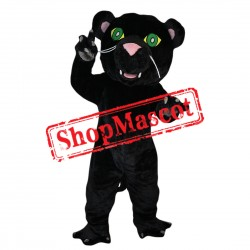 Cartoon Black Leopard Mascot Costume Free Shipping