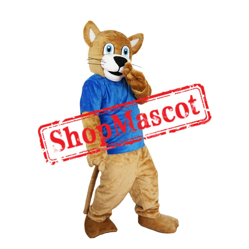 Brown Leopard Mascot Costume Free Shipping