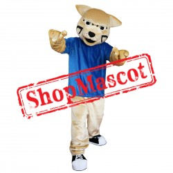 Power Wildcat Mascot Costume Free Shipping