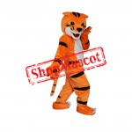Lovely Tiger Mascot Costume For Christmas