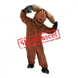 Lovely Moose Mascot Costume For Christmas