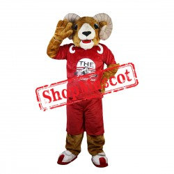 Sport Ram Mascot Costume For Halloween