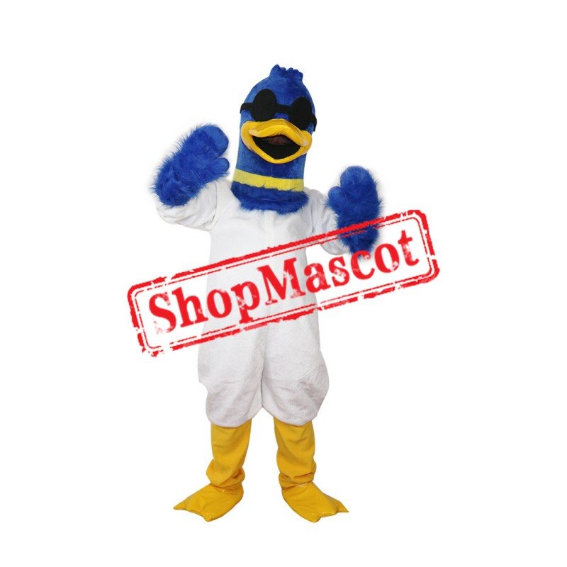 High Quality Blue Goose Mascot Costume