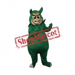 High Quality Green Devil Mascot Costume