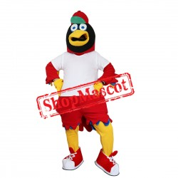 Sport Red Hawk Mascot Costume