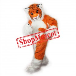High Quality Tiger Fursuit Mascot Costume