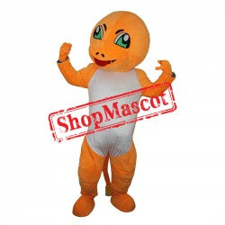 High Quality Pokemon Charmander Mascot Costume