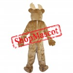 High Quality Light Brown Deer Mascot Costume