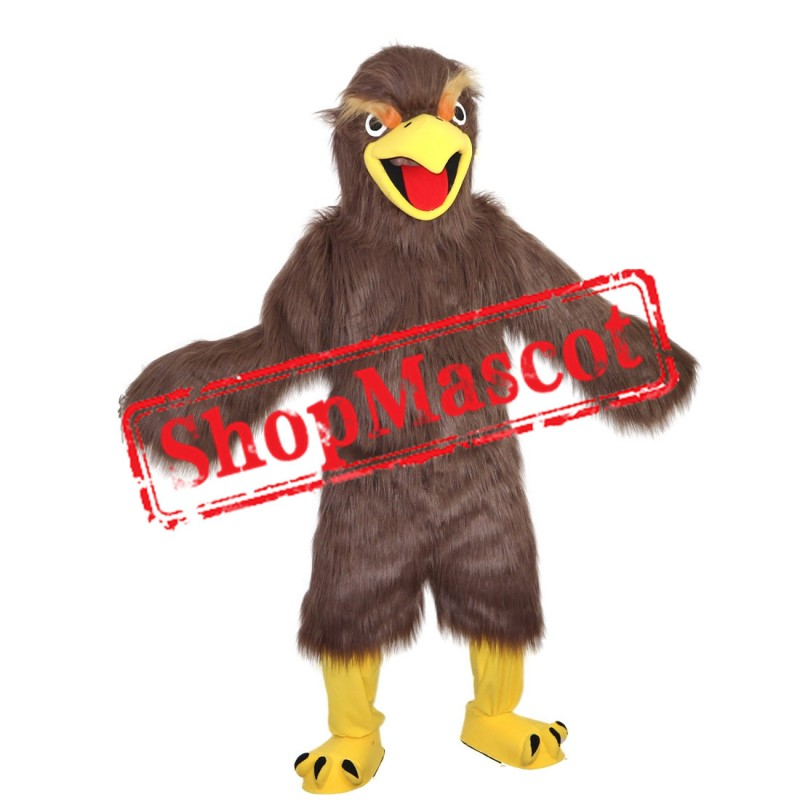 High Quality Coffee Eagle Mascot Costume