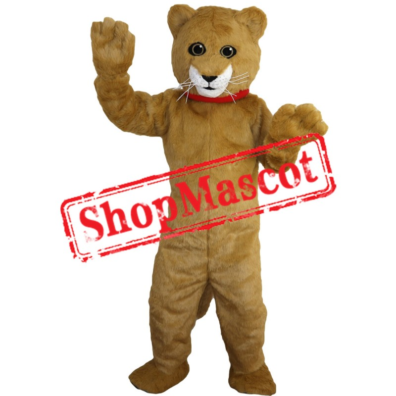High Quality Cute Wildcat Mascot Costume