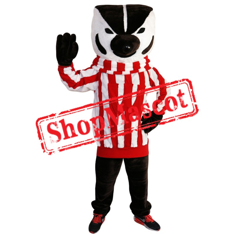 High Quality Bucky Badger Mascot Costume