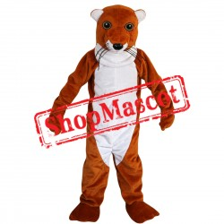 High Quality Brown Mole Mascot Costume