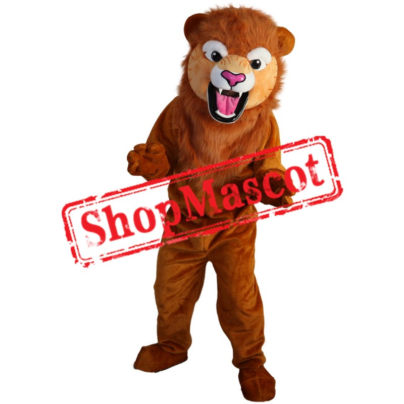 High Quality Fierce Lion Mascot Costume