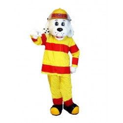 Fire Dog Mascot Costume for Adult