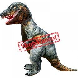 Blow Up Costume Inflatable T Rex Dinosaur Costumes Halloween Funny Suit For Adult