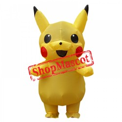 Blow Up Costumes For Kids Inflatable Pikachu Costume Halloween Suit
