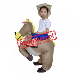 Blow Up Costumes For Kids Inflatable Horse Costume Halloween Suit