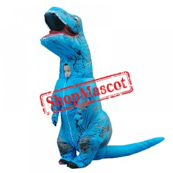 Blow Up Costumes Inflatable Dinosaur T Rex Costume Halloween Suit For Teens
