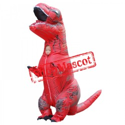 Blow Up Kids Inflatable Dinosaur T Rex Costume Halloween Funny Suit
