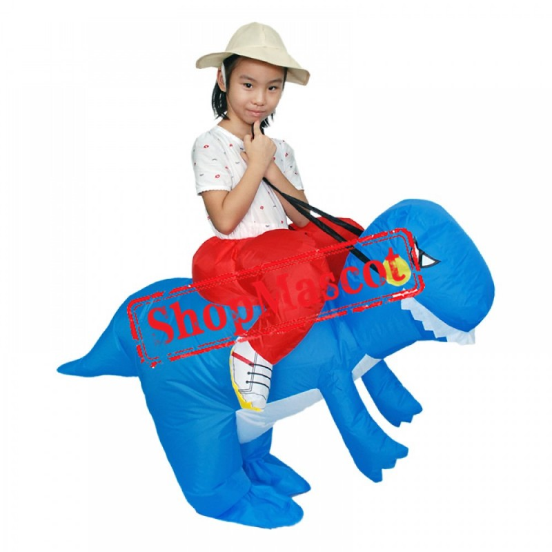 Blow Up Inflatable Costumes For Kids T Rex Dinosaur Costumes Halloween Funny Suit