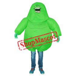 Inflatable Green Monster Costume Blow Up Pikachu Costumes Halloween Funny Suit