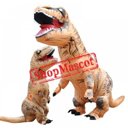 Blow Up Adult Inflatable Dinosaur T Rex Costume Halloween Costumes Suit