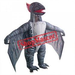 Inflatable Blow Up Pterosaurs Dinosaur Halloween Costume For Adults Men