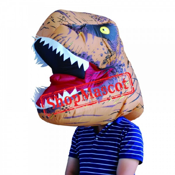 Adult Blow Up T Rex Head Costumes Halloween Costume Suit