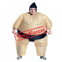 Blow Up Inflatable Sumo Wrestler Costume Costumes Suits For Adults & Kids