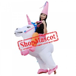 Inflatable Blow Up Unicorn Costume Suits For Halloween Costumes Adult & Kids