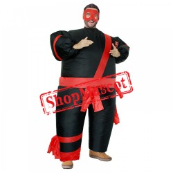 Inflatable Costume Blow Up Japanese Warrior Costumes Halloween Funny Suit