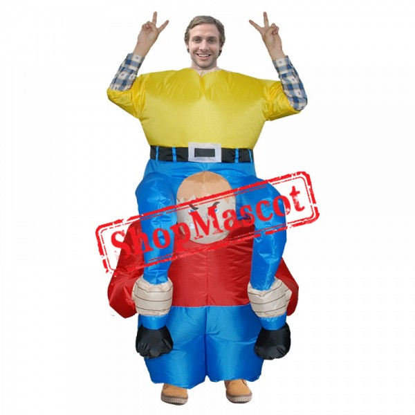 Inflatable Costume Blow Up Dwarfs Costumes Halloween Funny Suit