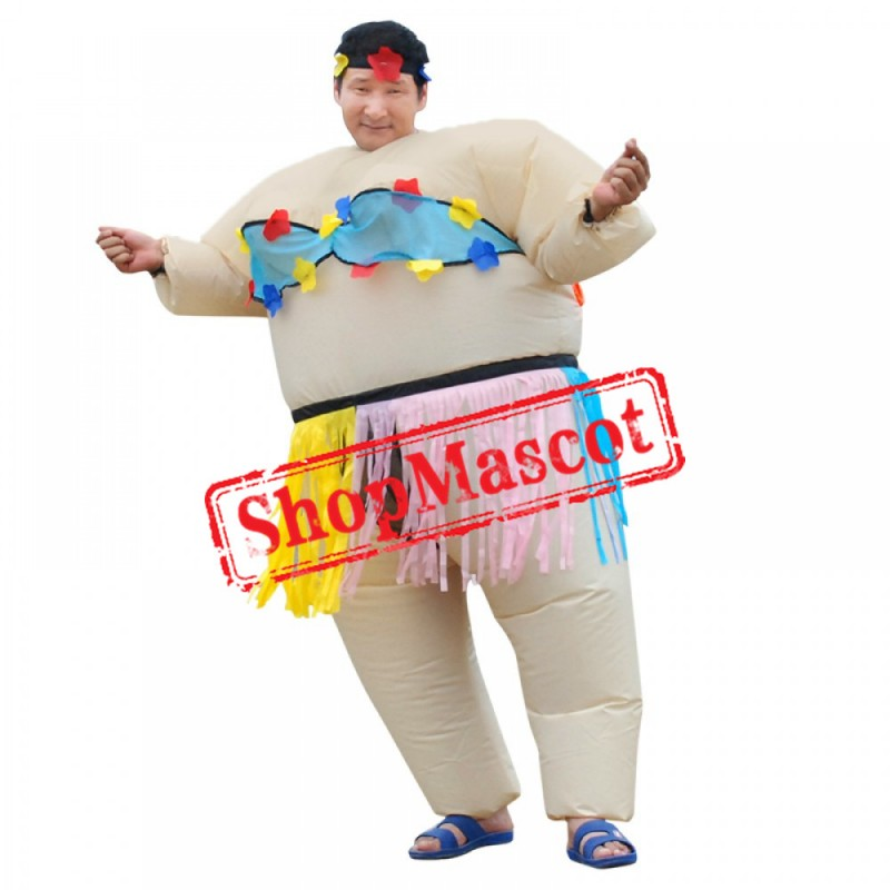 Inflatable Sumo Wrestler Costume Halloween Costumes For Adult