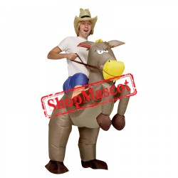 Blow Up Costumes Inflatable Halloween Donkey Costume For Adult