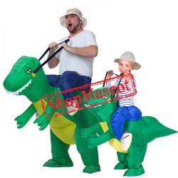 Inflatable Blow Up Dinosaur Costume Halloween Costumes For Adults & Kids
