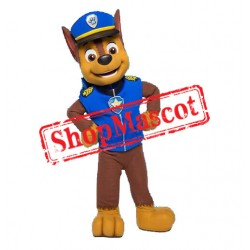 Top Quality Paw Patrol Chase Mascot Costume