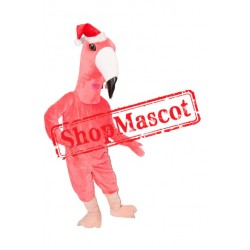 Christmas Flamingo Mascot Costume
