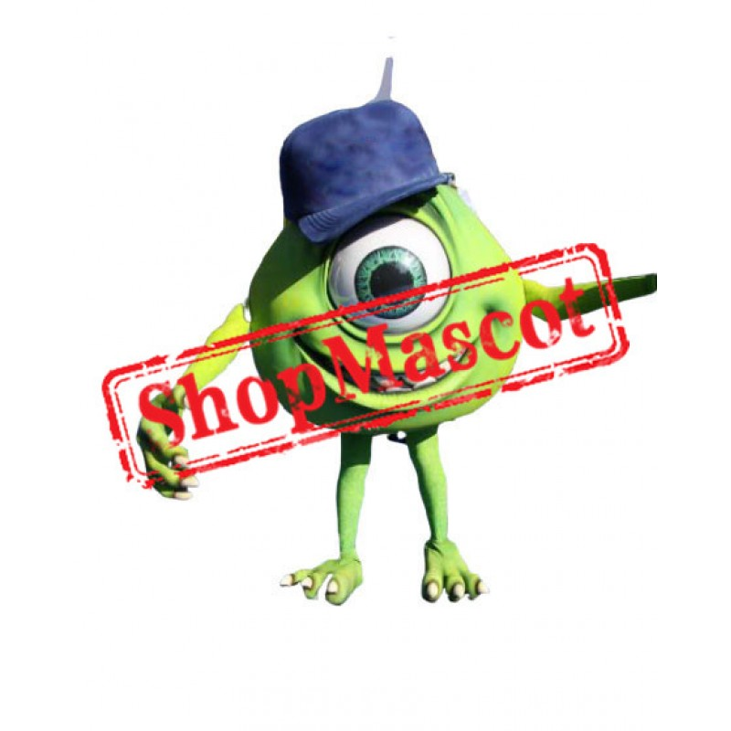 Top Quality Mike Wazowski Mascot Costume