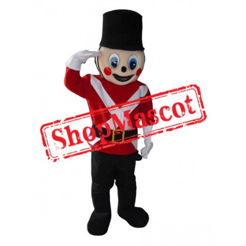 Top Quality Soldier Mascot Costume