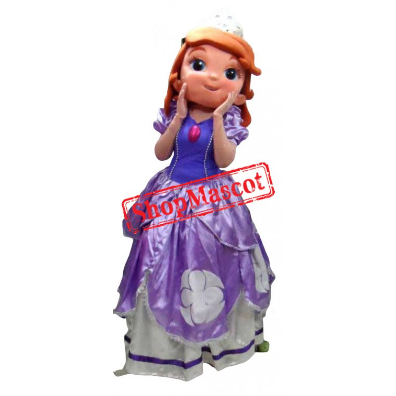 Princess Sofia Adult Mascot Costume