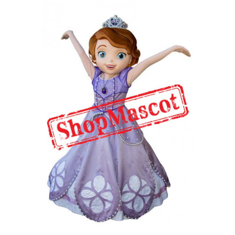 Top Quality Princess Sofia Mascot Costume