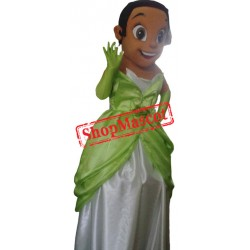 Princess Tiana Mascot Costume Adult Costume