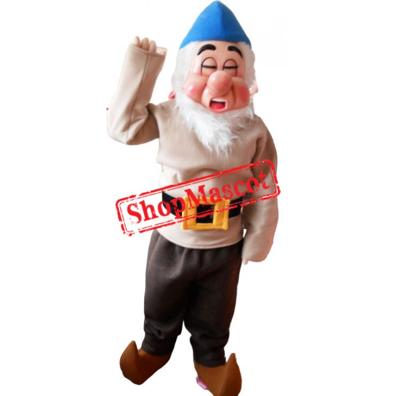 Sleepy Dwarf Mascot Costume